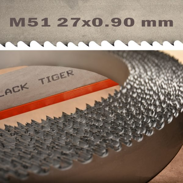 BLACK TIGER Bi Metal Durocut M51 27x09