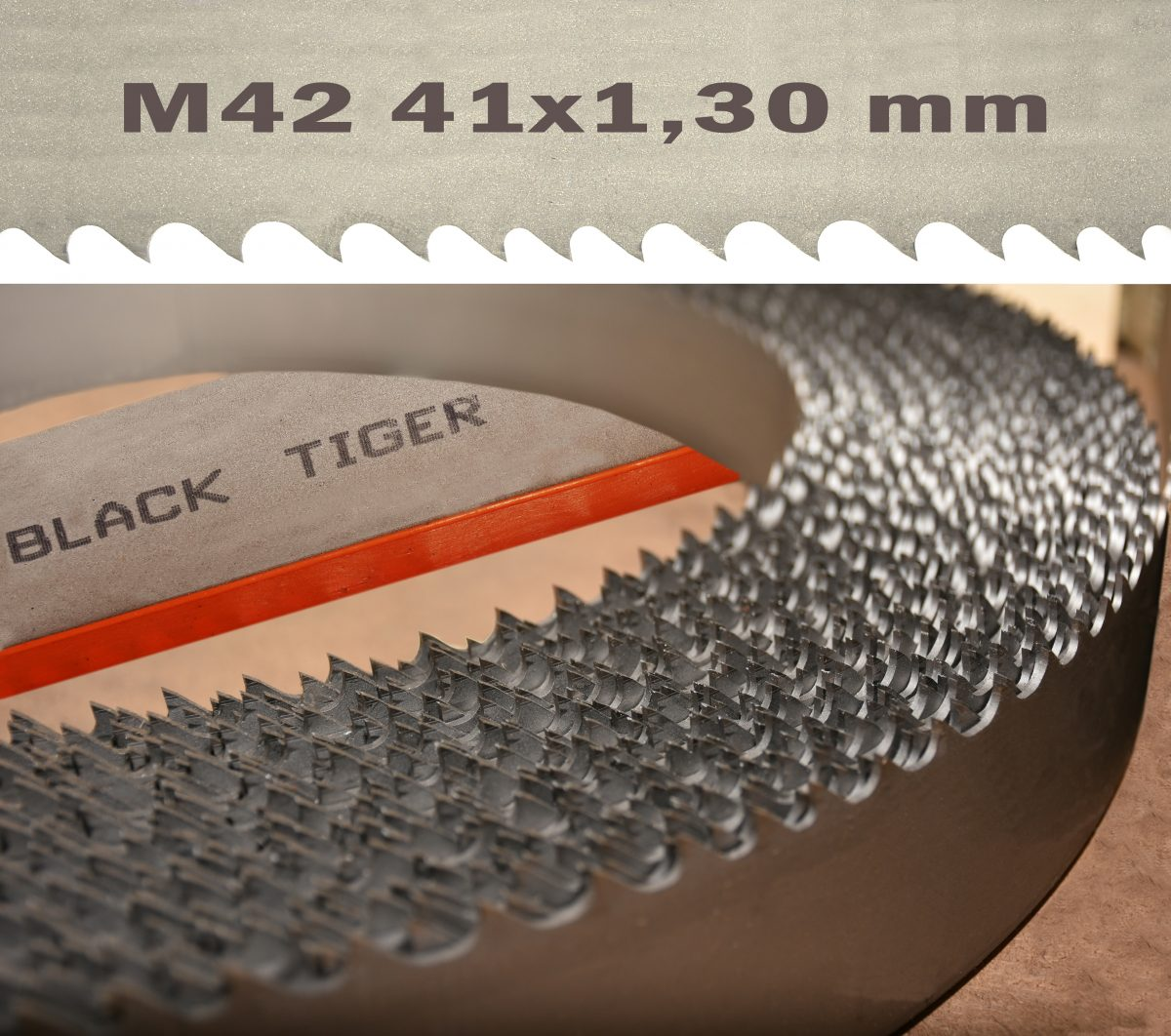 BLACK TIGER Bi Metal Multicut M42 41x1,30